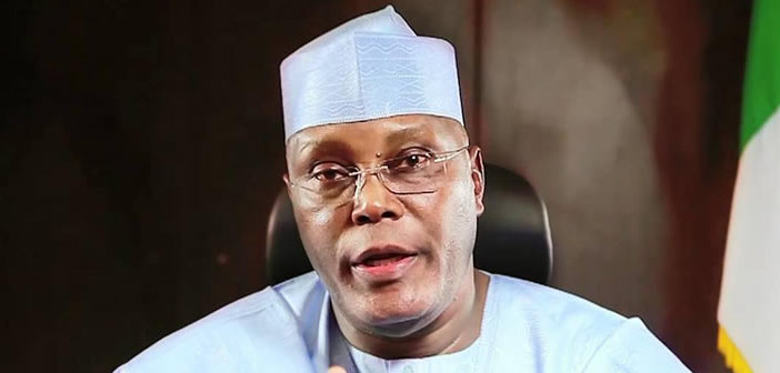 Hold me responsible for my promises  –  Atiku tells entertainers