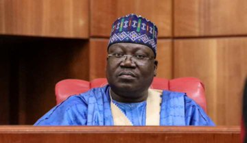 See how much Lawan will receive as Senate President