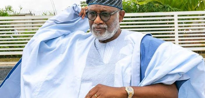 Governor Akeredolu declares his readiness for direct or indirect primaries