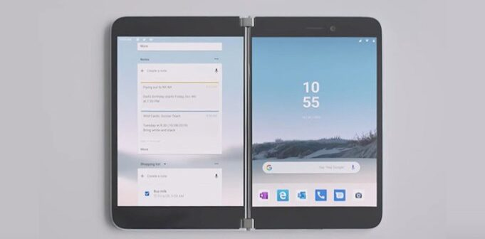 Microsoft Launches Surface Duo Folding Smartphone